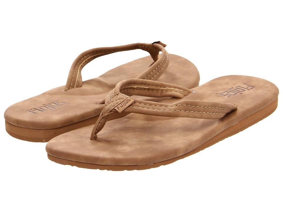 Flojos - Clover (Cognac) Women's Sandals
