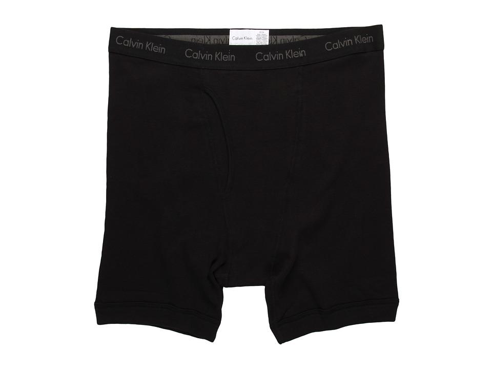 Calvin Klein Underwear - Big Tall Tall Boxer Brief U3282 (Black) Men