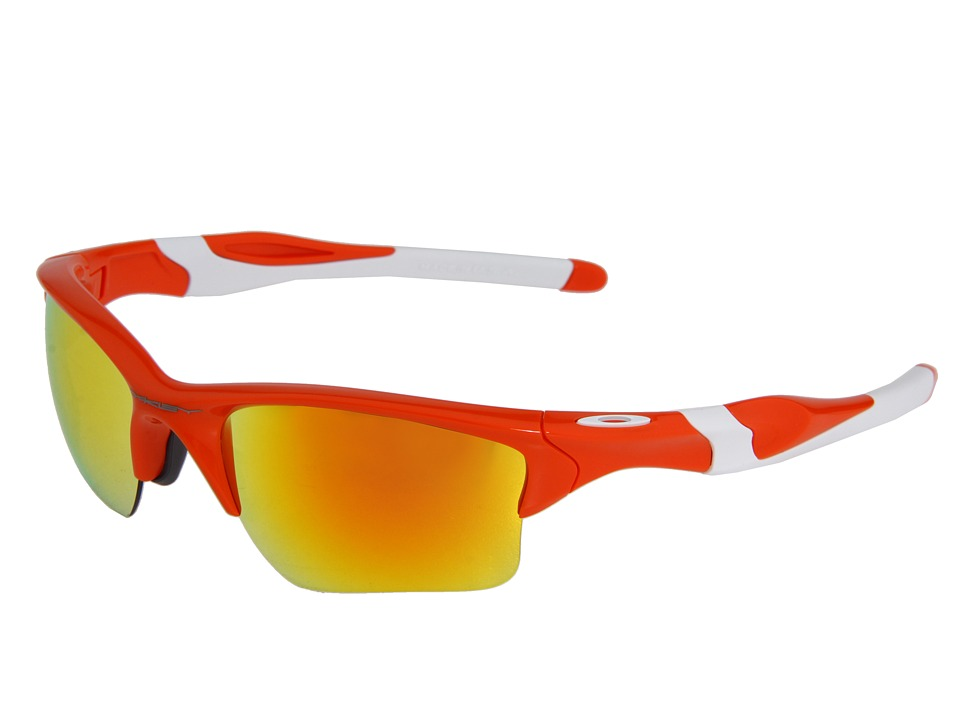 Oakley - Half Jacket 2.0 XL (Blood Orange w/Fire) Plastic Frame Sport Sunglasses