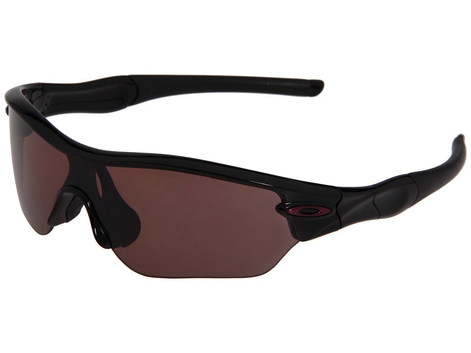 Oakley - Radar Polarized (Polished Black / OO Grey Polarized) Sport Sunglasses