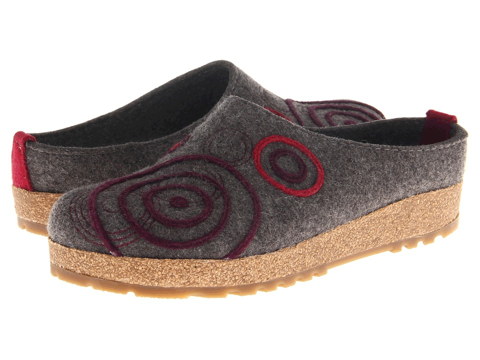 Haflinger - Swing (Grey) Women's Clog Shoes