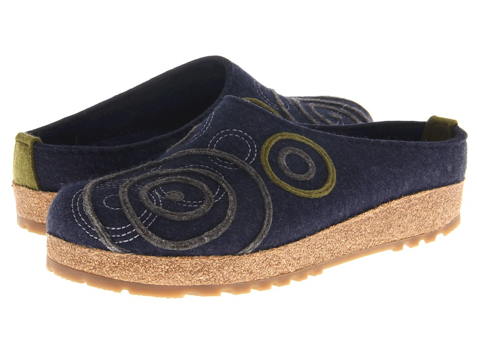 Haflinger - Swing (Captains Blue) Women's Clog Shoes