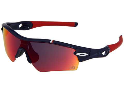 Oakley - Radar Path (Team USA) (Team USA Dark Blue w/ Red Iridium) Sport Sunglasses