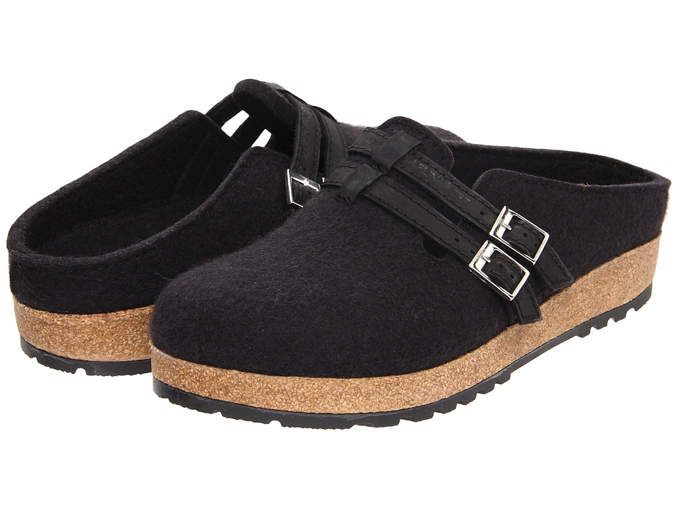 Haflinger - Haley (Black) Women's Clog Shoes