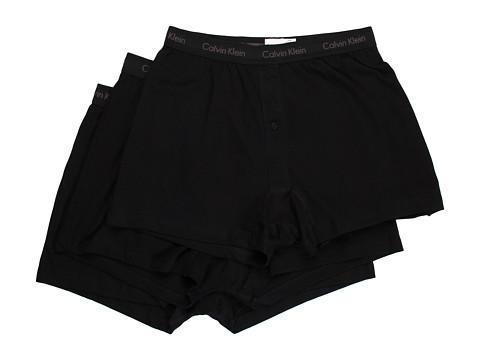 Calvin Klein Underwear - Classics Knit Boxer 3-Pack U3040 (Black) Men's Underwear