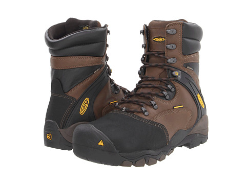Keen Utility - Louisville 8 (Slate Black) Men's Work Lace-up Boots