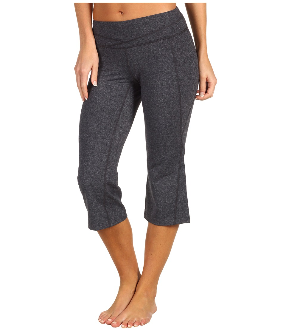 Lucy - Hatha Capri (Asphalt Heather) Women's Capri