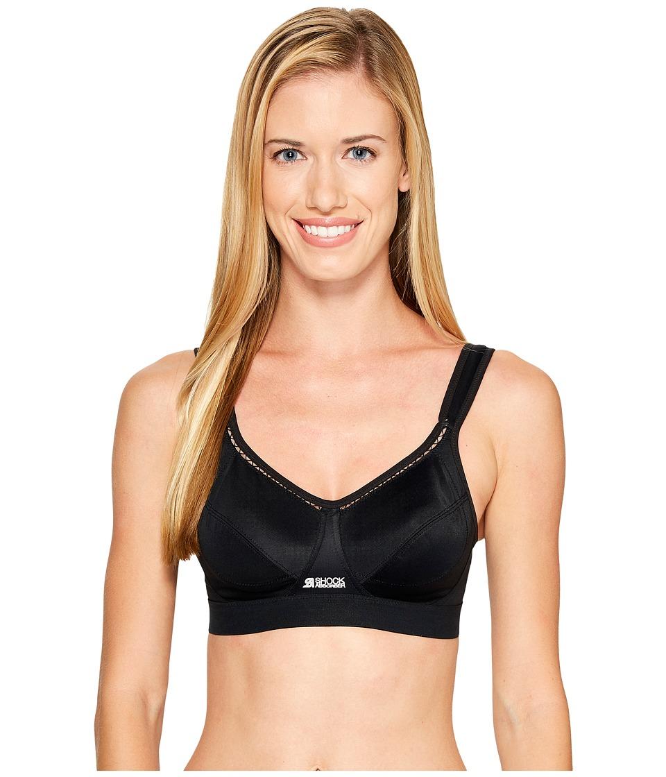 Shock Absorber - Classic Sports Bra N102 (Black) Women's Bra