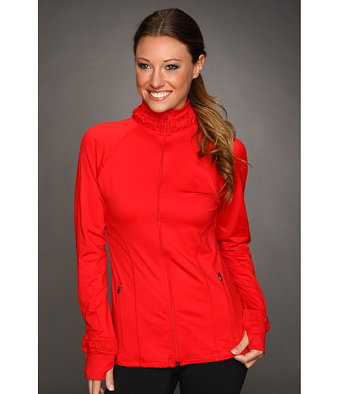 Spanx Active - Contour Jacket (Ignite Red) Women's Jacket
