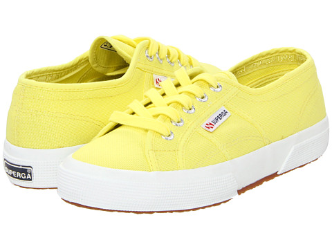 Superga - 2750 Cotu Classic (Limelight) Lace up casual Shoes