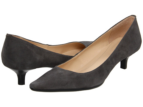 Calvin Klein - Diema (Grey/Brown/White) Women's 1-2 inch heel Shoes