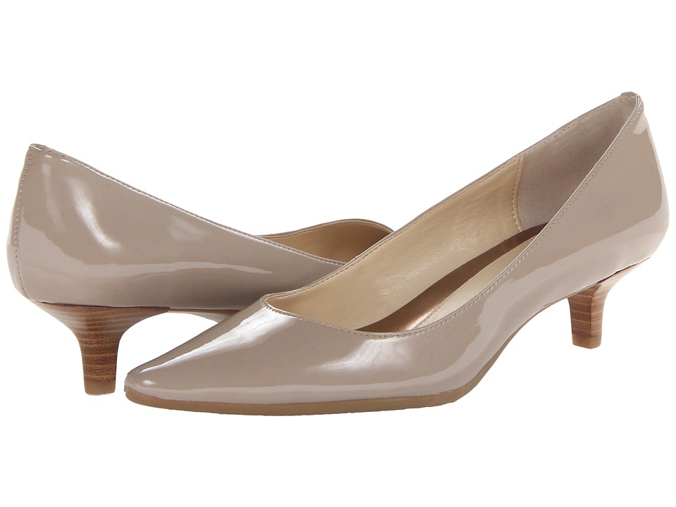 Calvin Klein - Diema (Light Taupe Patent) Women's 1-2 inch heel Shoes