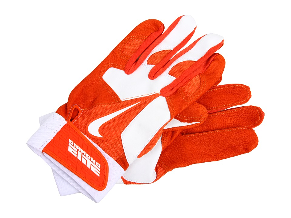 Nike - Diamond Elite Pro II Adult (Team Orange/White/Team Orange/White) Athletic Sports Equipment