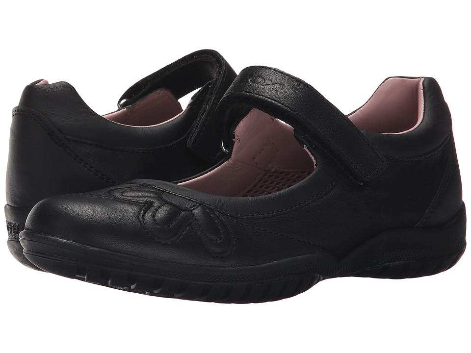 Geox Kids - Jr Shadow 42 (Big Kid) (Black) Girl's Shoes