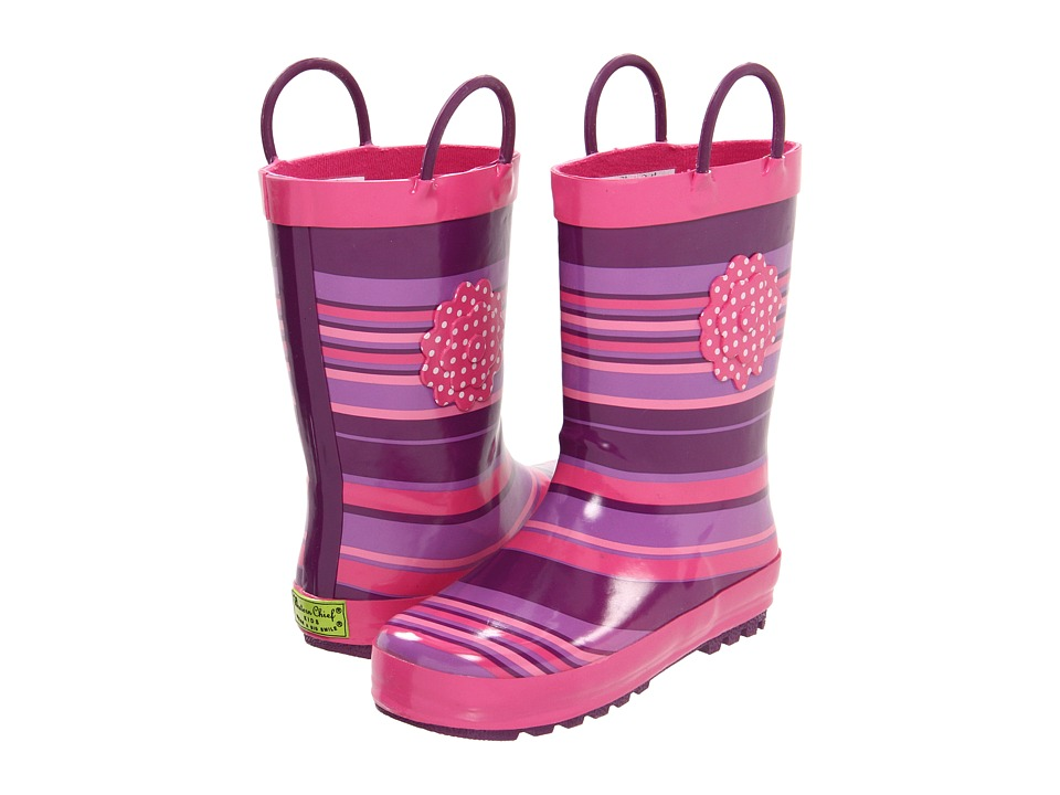 Western Chief Kids - Olivia Rain Boot (Toddler/Little Kid) (Purple) Girls Shoes