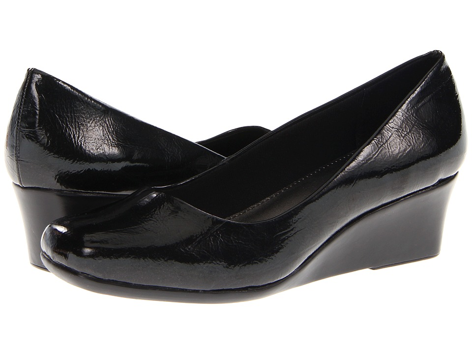 LifeStride - Garam (Black Farah) Women's Wedge Shoes