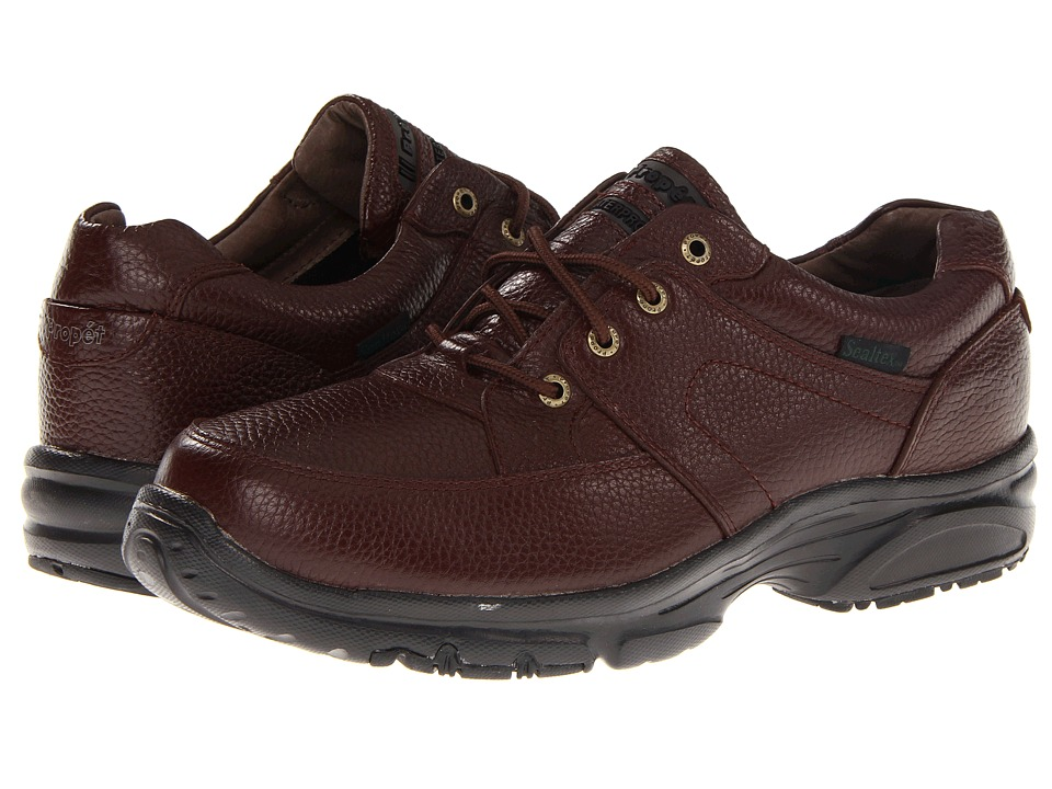 Propet - Four Points Waterproof (Bronco Brown) Men's Lace up casual Shoes