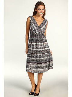 SALE! $46.99 - Save $107 on NIC ZOE Barcelona Block Dress (Multi) Apparel - 69.49% OFF $154.00