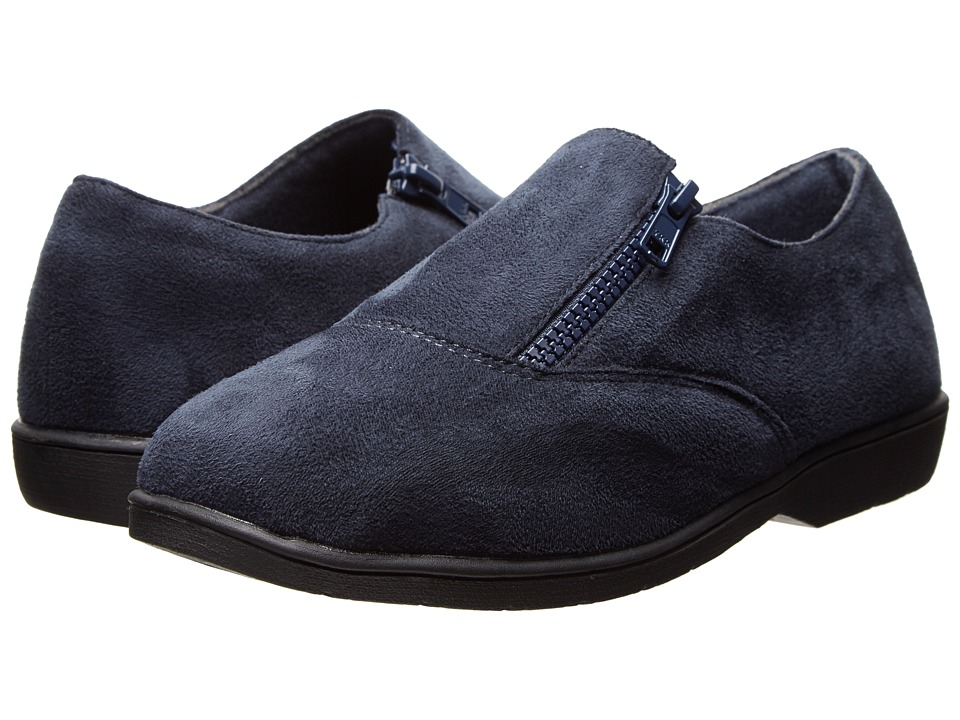 Propet - Shannon (Indigo Velour) Women's Flat Shoes