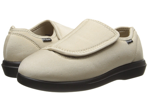 Propet - Cush 'n Foot Medicare/HCPCS Code=A5500 Diabetic Shoe (Sand) Women's Hook and Loop Shoes