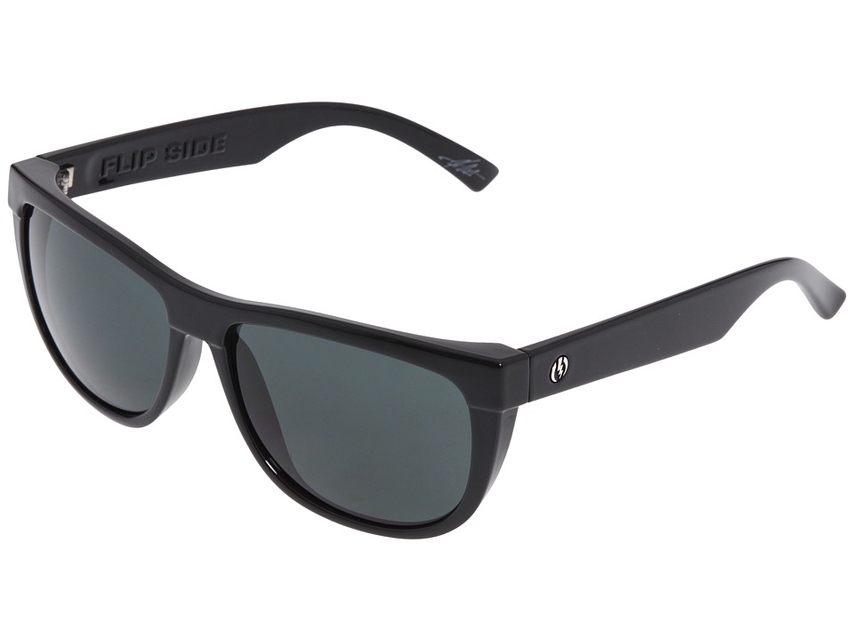 Electric Eyewear - Flip Side (Gloss Black/Grey) Sport Sunglasses