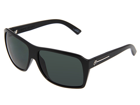 Electric Eyewear - Capt. Ahab (Gloss Black/Grey Polarized) Sport Sunglasses