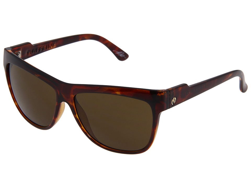 Electric Eyewear - Caffeine (Tortoise Shell/Bronze) Sport Sunglasses