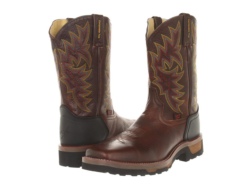 Tony Lama - TW1061 (Bark Badger) Cowboy Boots