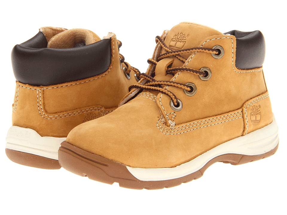 Timberland Kids - Earthkeepers Timber Tykes Lace Boot (Toddler) (Wheat) Boys Shoes