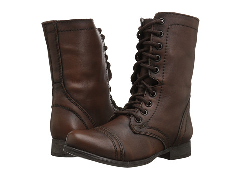 Steve Madden - Troopa (Brown Leather) Women