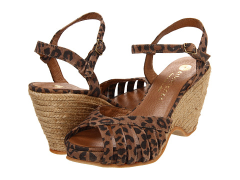 Eric Michael - Kamielle (Leopard) Women's Wedge Shoes