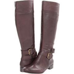 Nine West Shiza (Dark Brown Leather) Footwear
