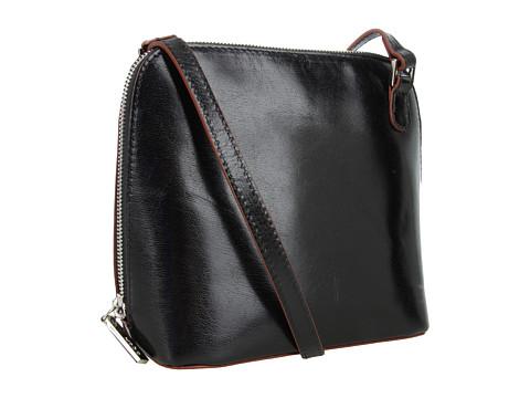 Hobo - Camilla (Black Venice Leather) Cross Body Handbags