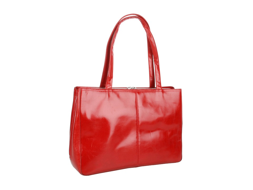 Hobo - Morena (Red Venice Leather) Shoulder Handbags