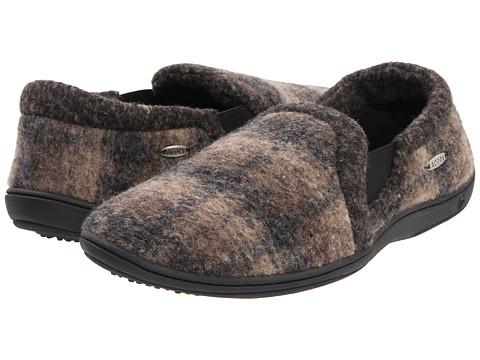 Acorn - Davin Gore Moc (Driftwood Plaid) Men's Slippers