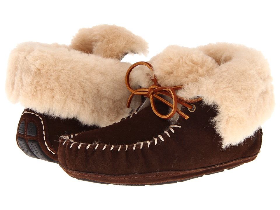Acorn - Sheepskin Moxie Boot (Dark Chocolate) Women's Boots