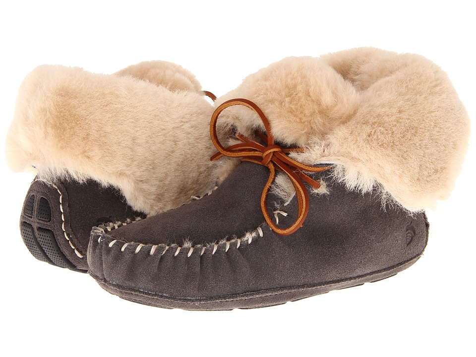 Acorn - Sheepskin Moxie Boot (Stone) Women's Boots
