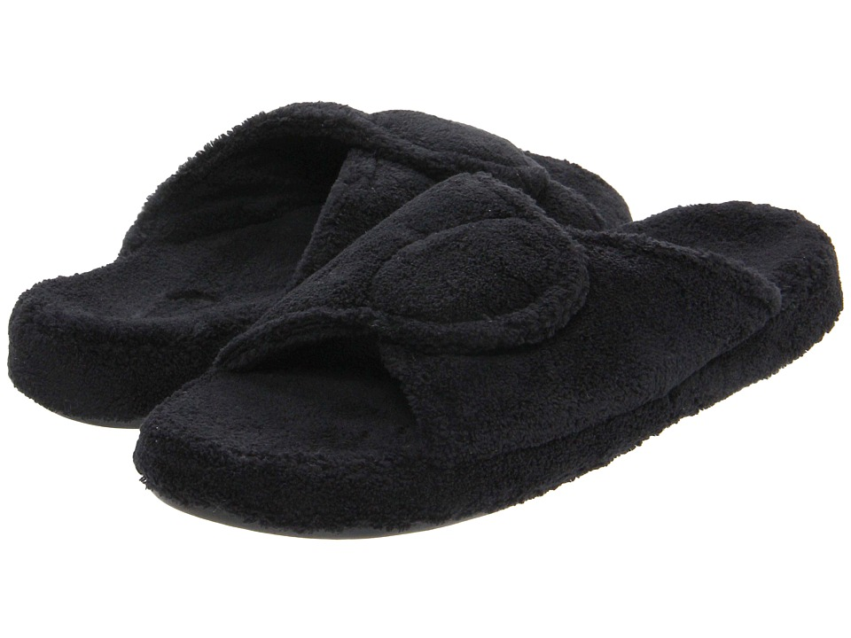 Acorn - New Spa Slide (Black) Women's Slippers