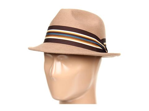 San Diego Hat Company - WFH7874 Felt Fedora (Camel) Fedora Hats