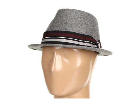 San Diego Hat Company - WFH7838 Felt Fedora (Grey) Fedora Hats