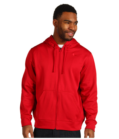 Nike - KO Full-Zip Hoodie 2.0 (Gym Red/Gym Red) Men's Sweatshirt