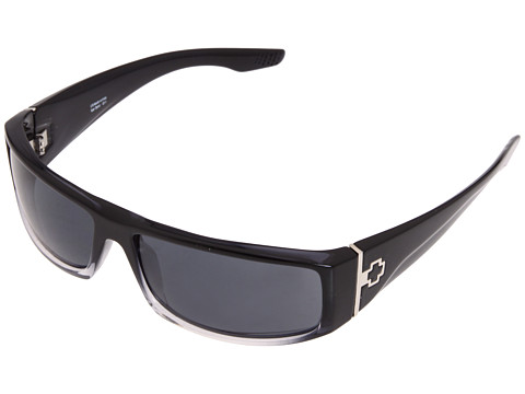 Spy Optic - Cooper (Black Fade/Grey) Plastic Frame Sport Sunglasses