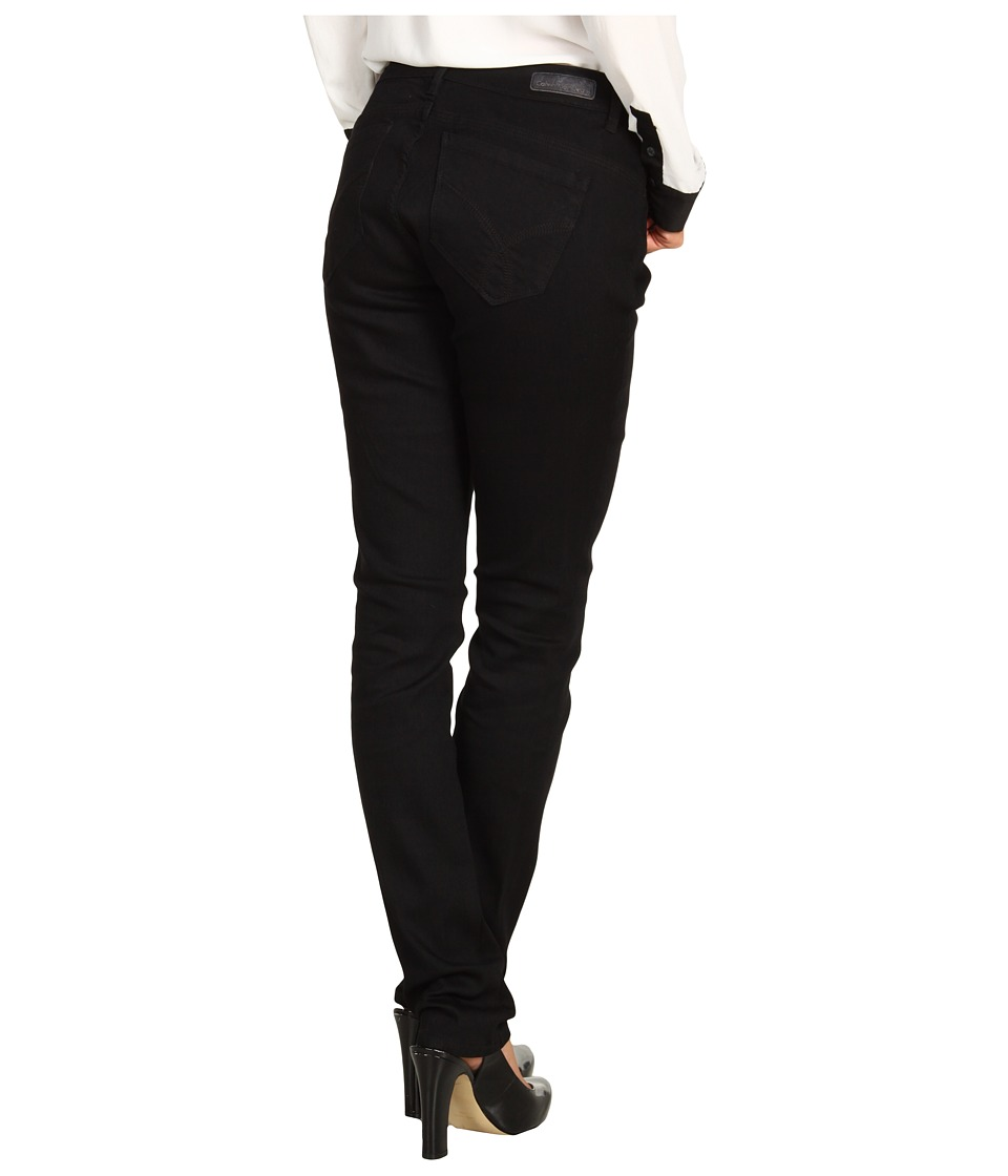 Calvin Klein Jeans - Powerstretch Curvy Skinny Denim in Black (Black) Women's Jeans