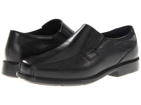Dunham - Dillon Bikefront Slip On (Black) Men's Slip on Shoes