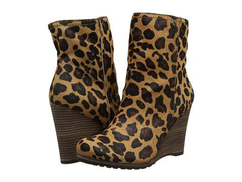 Calvin Klein Jeans Odelle (Leopard Haircalf) Women's Zip Boots