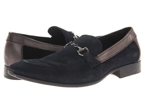 Robert Wayne - Randy (Navy Suede) Men's Slip-on Dress Shoes