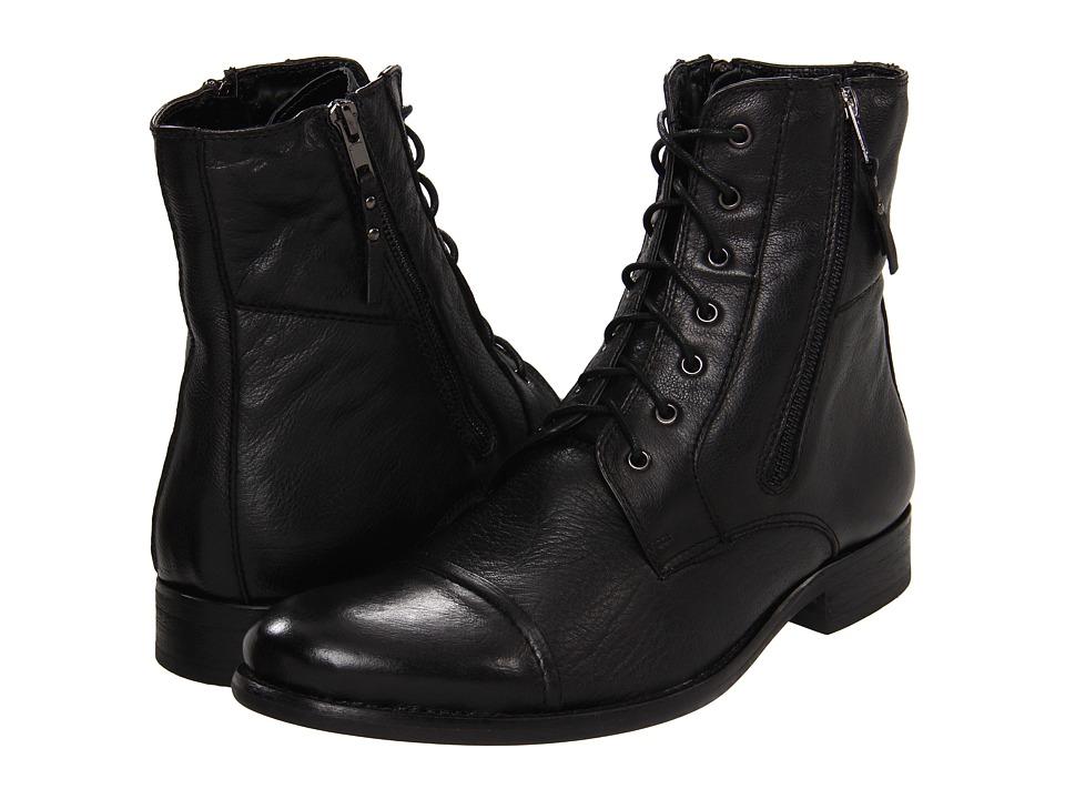 56ff983f2d1 UPC 829414470311 product image for Kenneth Cole Reaction Hit Men (Black  Leather) Men's Dress ...