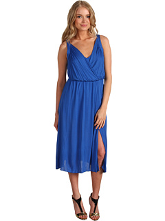 SALE! $79.99 - Save $78 on BCBGMAXAZRIA V Neck Jersey Dress (Blue) Apparel - 49.37% OFF $158.00