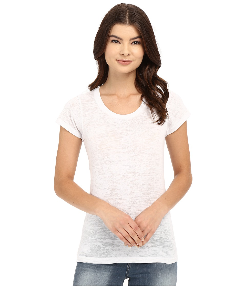 Alternative - Perfect Fit Burnout Crew (White) Women