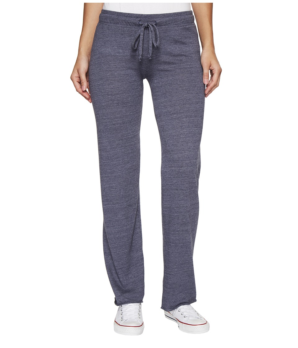 Alternative - Eco-Jersey Long Pant (Eco True Navy) Women's Casual Pants
